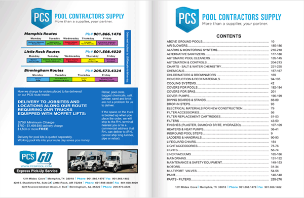 Pool Contractors Supply Catalog